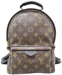 Louis Vuitton Lv Palm Springs Canvas Pm Backpack