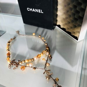 Chanel Chanel Pearl's & Pendant Necklace