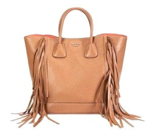 Prada Tote in Tan