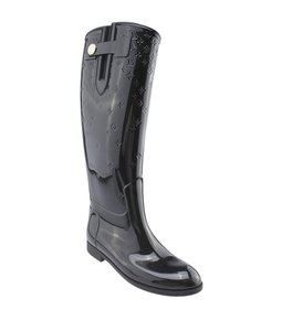 Louis Vuitton Xrubber Rainboots Black Boots