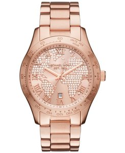 Michael Kors Michael Kors Women's Layton Rose Gold-Tone Watch MK6376