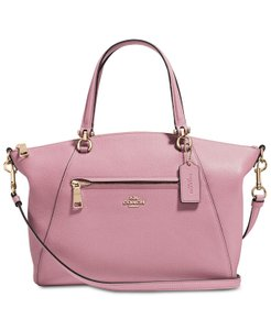 Coach Satchel in Rose Pink/Gold