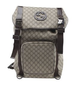 Gucci Coated Canvas Backpack
