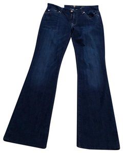 7 For All Mankind Boot Cut Pants Blue denim