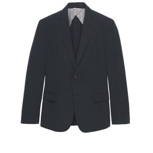 Billy Reid Navy Cotton/Linen 40R Blazer