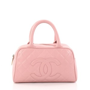 Chanel Bowler Tote in Pink