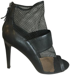 JOE'S Jeans Stiletto Stiletto Mesh Peep Toe Sexy black Sandals