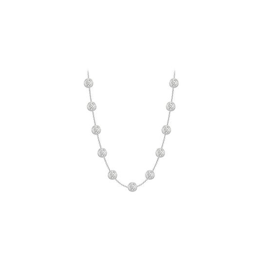 Preload https://img-static.tradesy.com/item/24347336/white-cz-designer-in-14k-gold-two-carat-tgw-with-36-inch-cabl-necklace-0-0-540-540.jpg