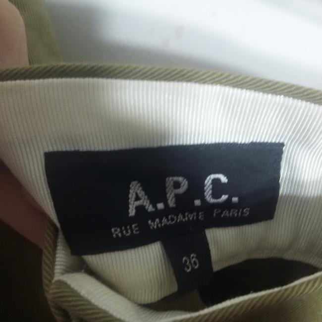 A.P.C. Denim Mini Mini Skirt Olive Image 1