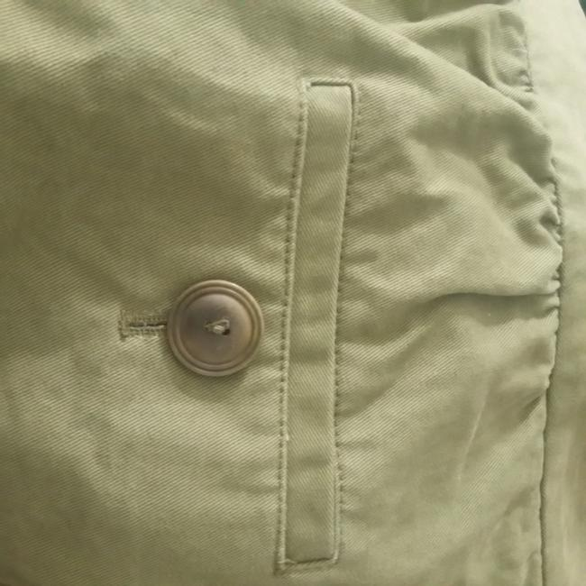 A.P.C. Denim Mini Mini Skirt Olive Image 2