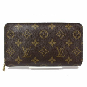 Louis Vuitton Louis Vuitton Brown Monogram Zippy Wallet 11120