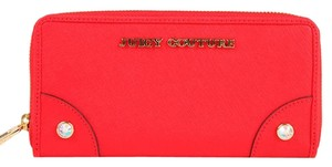 Juicy Couture Juicy Couture Leather-Zip Wallet YSRUO188