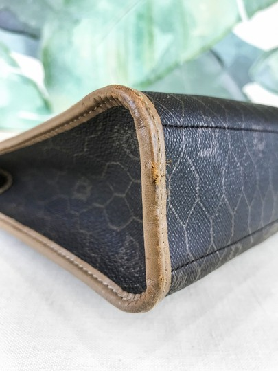 Dior Christian Pouch Brown Black Clutch Image 10