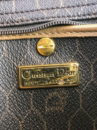 Dior Christian Pouch Brown Black Clutch Image 5