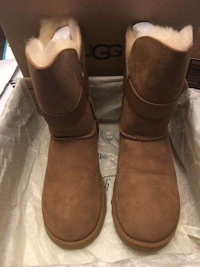 UGG Australia New Winter Uggs Chestnut Boots Image 2