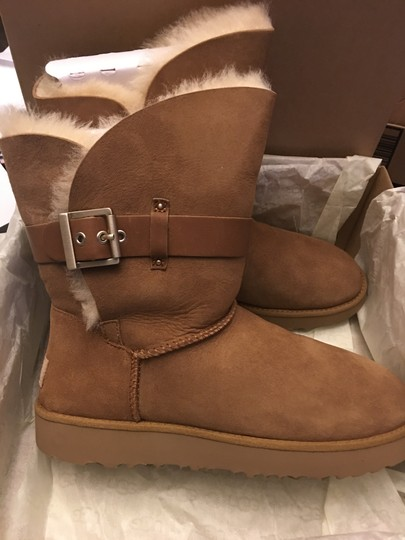 UGG Australia New Winter Uggs Chestnut Boots Image 4