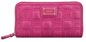 Nine West Nine West Showstopper Zip Wallet - Fuchsia (BRAND NEW)
