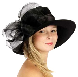 kentucky derby hat New hat with netted feathered bow Formal church Hat