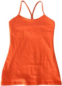 Lululemon Lululemon Y back racerback tank in orange