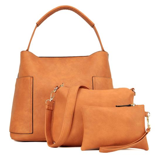 Preload https://img-static.tradesy.com/item/24347950/fashion-with-matching-organizer-and-wristlet-brown-buffalo-faux-leather-hobo-bag-0-0-540-540.jpg