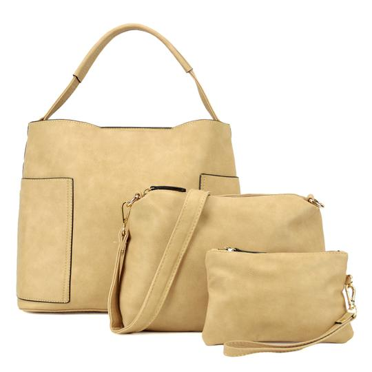 Preload https://img-static.tradesy.com/item/24347956/fashion-with-matching-organizer-and-wristlet-taupe-buffalo-faux-leather-hobo-bag-0-0-540-540.jpg
