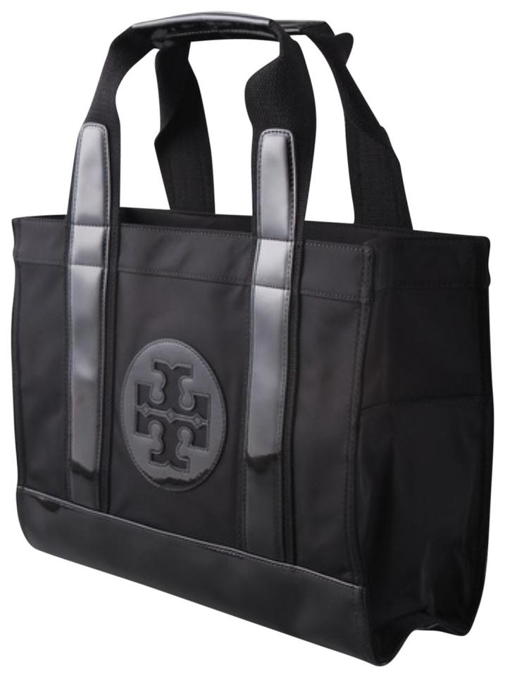 9a63966bb842 Tory Burch Ella Black Nylon Tote - Tradesy