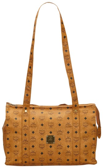 Preload https://img-static.tradesy.com/item/24348049/mcm-visetos-brown-leather-x-others-tote-0-1-540-540.jpg