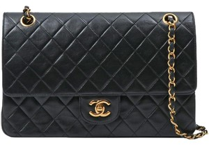Chanel Vintage Lambskin Shoulder Bag