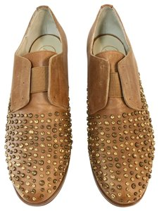 Anthropologie brown Flats