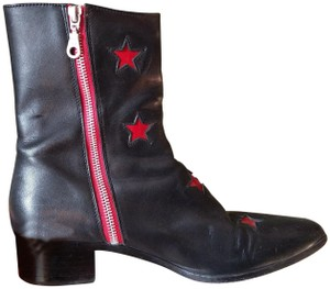 Modern Vice Black with Red Accents Boots