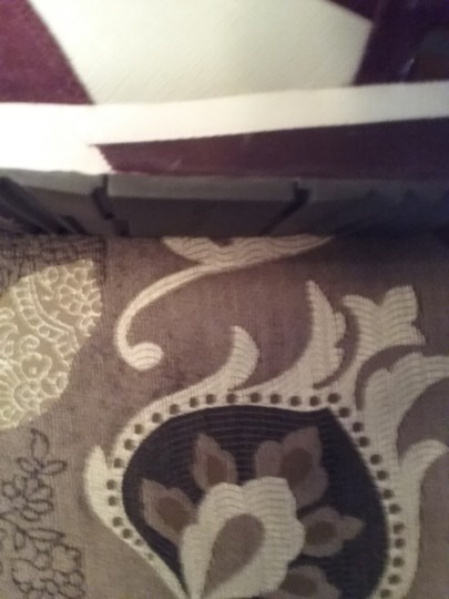 Michael Kors Allie Sneaker Suede/Leather Burgundy White Athletic Image 1