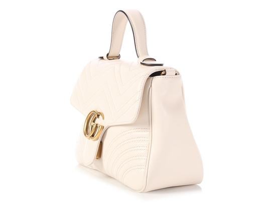 Gucci Gc.p1008.12 Top Handle Heart Brass Hardware Reduced Price Shoulder Bag Image 1