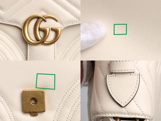 Gucci Gc.p1008.12 Top Handle Heart Brass Hardware Reduced Price Shoulder Bag Image 11