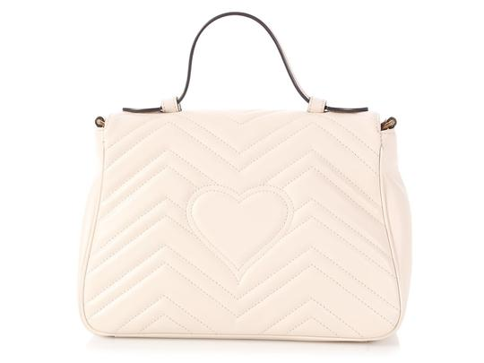 Gucci Gc.p1008.12 Top Handle Heart Brass Hardware Reduced Price Shoulder Bag Image 2