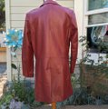 Leather-Sound red Leather Jacket Image 5
