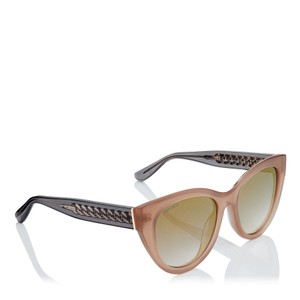 Jimmy Choo Chana/s Cat Eye with Gold Chain Temples