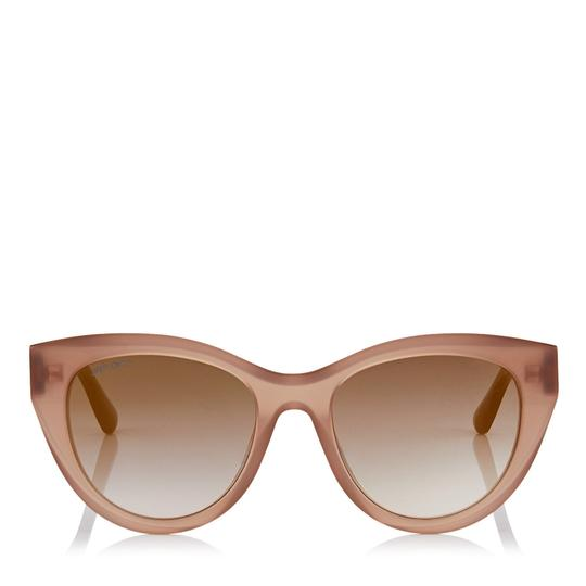 Jimmy Choo Chana/s Cat Eye with Gold Chain Temples Image 1