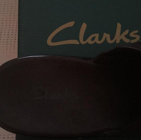 Clarks Brown Mules Image 3