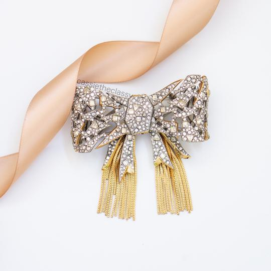 Alexis Bittar Alexis Bittar Mosaic Lace Bow Brooch Pin Image 1