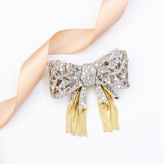 Alexis Bittar Alexis Bittar Mosaic Lace Bow Brooch Pin Image 2