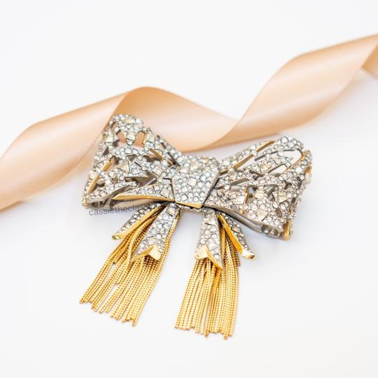 Alexis Bittar Alexis Bittar Mosaic Lace Bow Brooch Pin Image 3