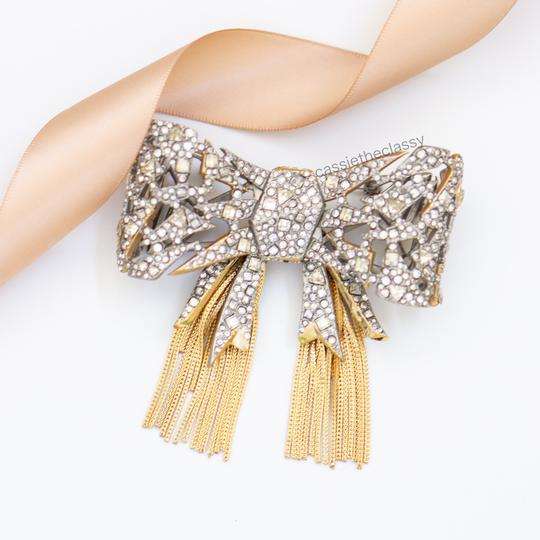 Alexis Bittar Alexis Bittar Mosaic Lace Bow Brooch Pin Image 4