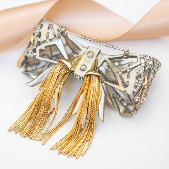Alexis Bittar Alexis Bittar Mosaic Lace Bow Brooch Pin Image 5