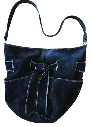 Preload https://img-static.tradesy.com/item/24348596/kooba-shoulder-black-suede-leather-hobo-bag-0-1-540-540.jpg