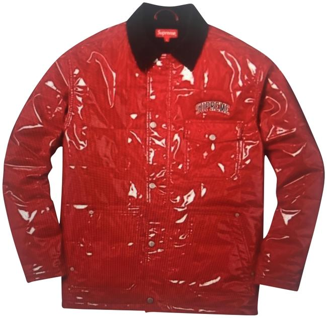 Preload https://img-static.tradesy.com/item/24348632/supreme-red-quilted-patent-vinyl-jacket-size-8-m-0-1-650-650.jpg