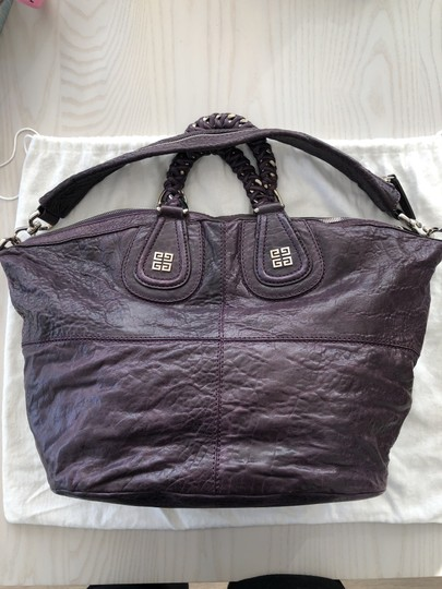 Givenchy Satchel in Purple Image 4