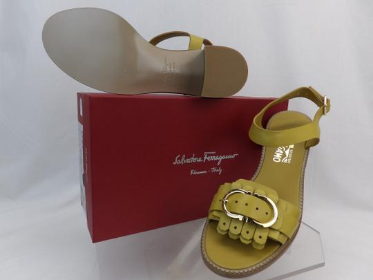 Salvatore Ferragamo Yellow Sandals Image 2