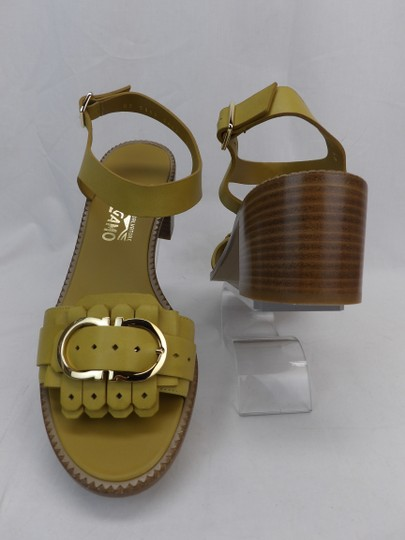 Salvatore Ferragamo Yellow Sandals Image 6
