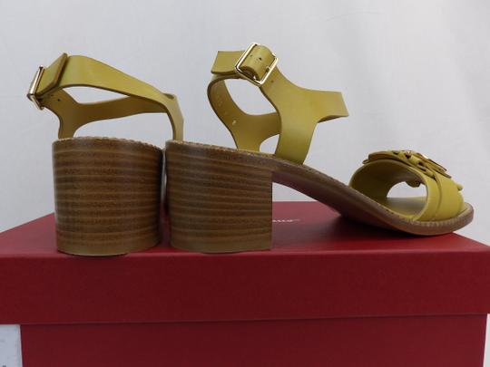 Salvatore Ferragamo Yellow Sandals Image 7