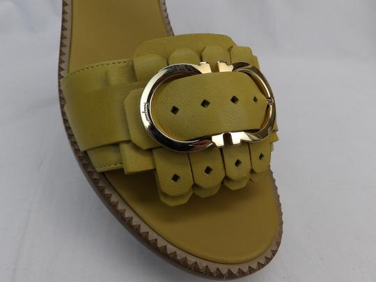 Salvatore Ferragamo Yellow Sandals Image 8